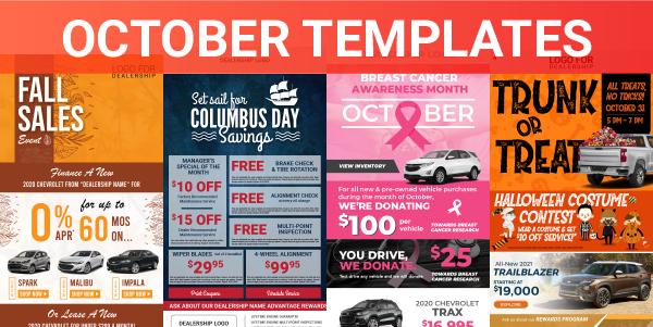 October Templates