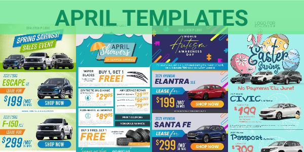 April Templates