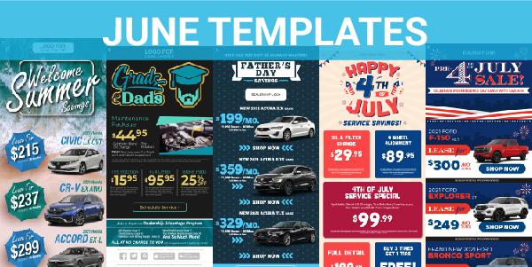 June templates